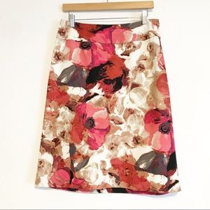 East 5th skirt floral multi-colored